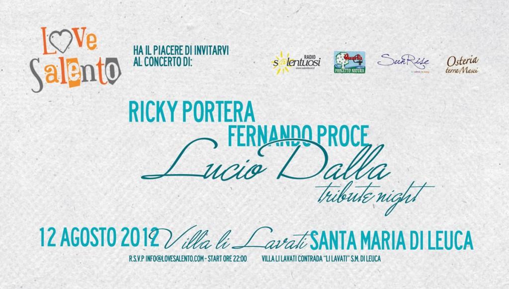 Lucio Dalla Tribute Night